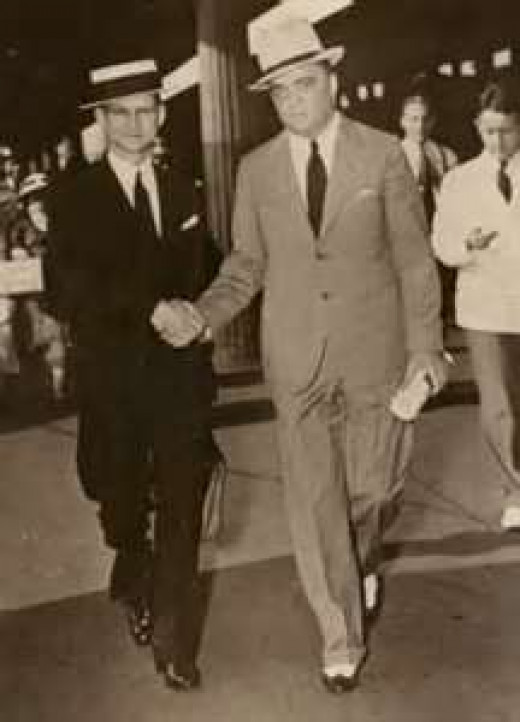 Purvis(left) with Hoover(right)
