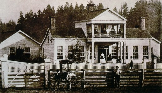 Sam Brown House, circa 1880's: Oregon family home built with wealth from gold-mining in California