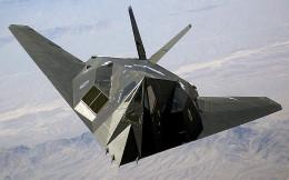 The Nighthawk in flight