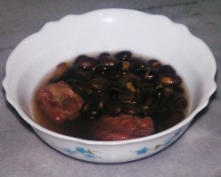 Black Bean Soup With Pork Ribs Recipe