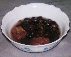 Black Bean Soup With Pork Ribs Recipe