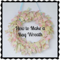 How to Make a No-Sew Rag Wreath with Fabric Scraps