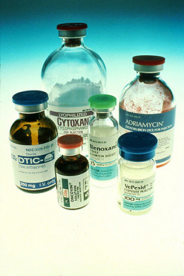 Conventional Chemotherapy Drugs. Source: Wikimedia Commons, Public Domain