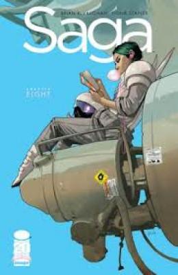 Saga # 8 1st appearance of Gwendolyn.