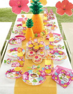 Throw a Pink Luau Fun Birthday Party