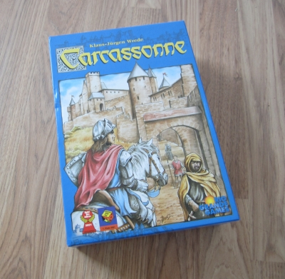 Original Carcassonne board game