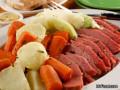 Easy crock pot corned beef & cabbage recipe