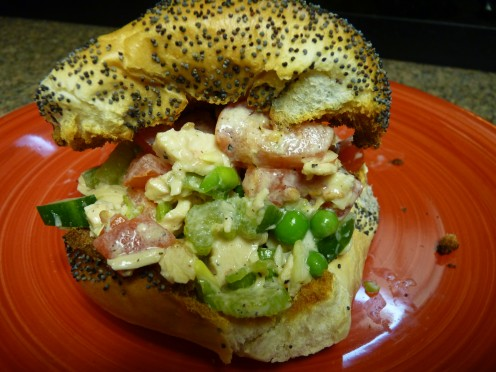 A Skinny Chicken Salad Sandwich