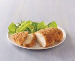 The key to making some really juicy chicken breast is using mayo as your base to protect the chicken.