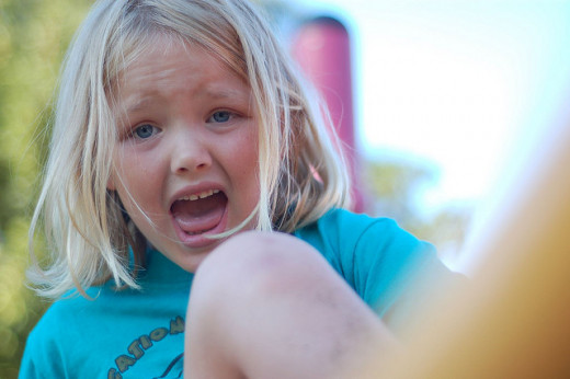 Parenting involves knowing how to deal with temper tantrums