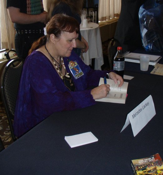 Author Mercedes Lackey