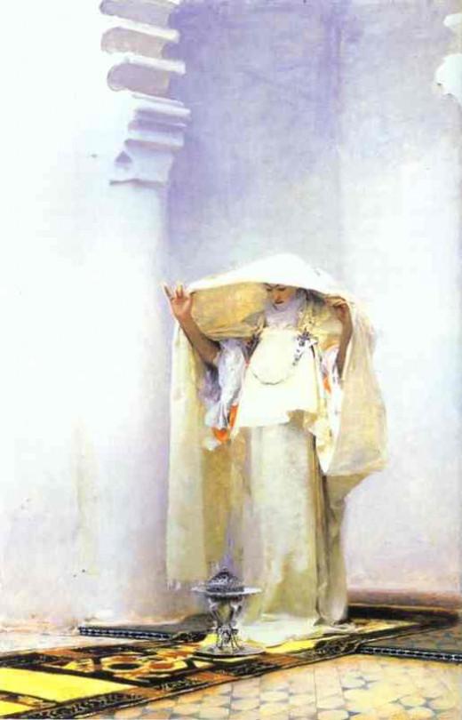 Fumée d'Ambre Gris,              John Singer Sargent, 1880