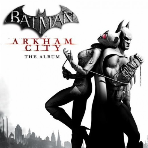 Batman Arkham City: the Album cover