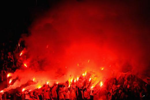 Galatasaray flares