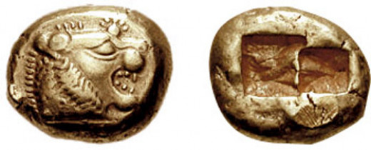 Early Lydian coins