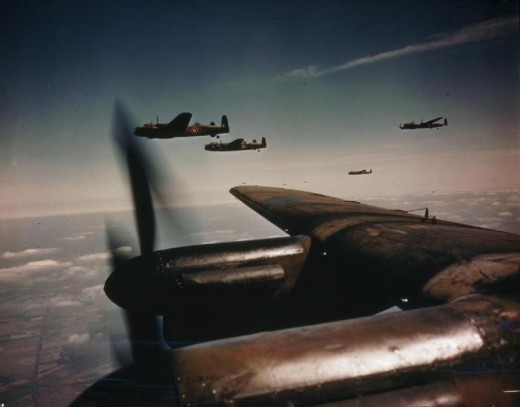 Lancaster Bombers and other planes have been observed in ghostly form since world war II