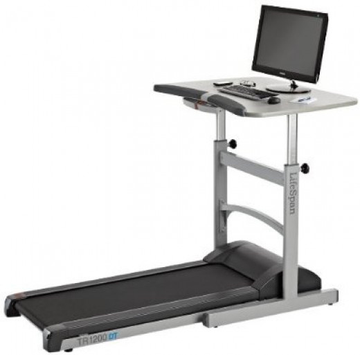 Treadmill desks can be simple or complex.