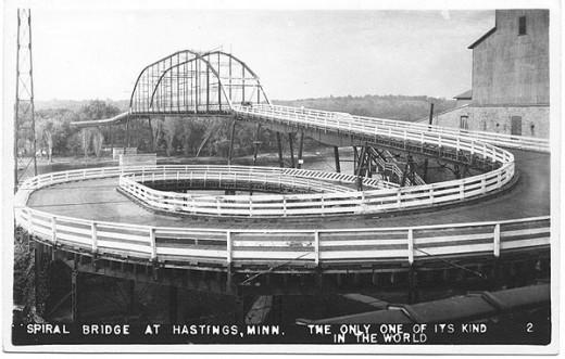 Spiral Bridge over Mississippi