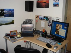 Having an organized, personalized desk is an important component of any dorm room.