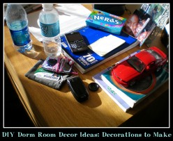 DIY Easy Dorm Room Décor Ideas: Decorations to Make