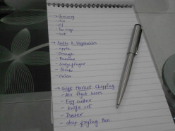How to make a Shopping List