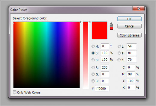 Saturation Color Picker