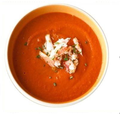 Crab and Tomato Soup Recipe