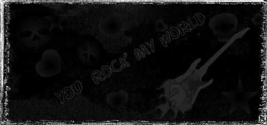 Black Outside pic #1 Rocker Printable Valentine's Day Card