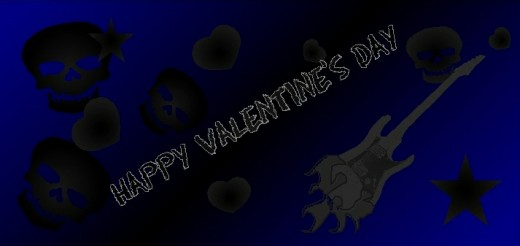 Inside Pic #2 Blue Rocker Printable Valentine's Day card