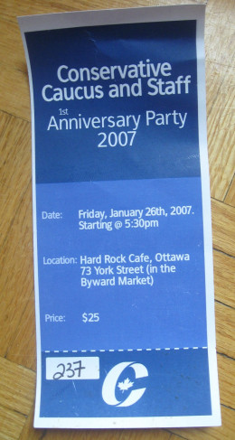 My 2007 CPC Party invite