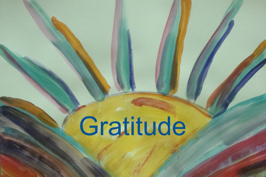 Feeling gratitude is its own success!
