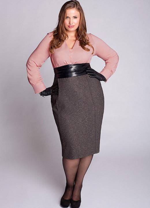 Skirt & blouse @igigi.com