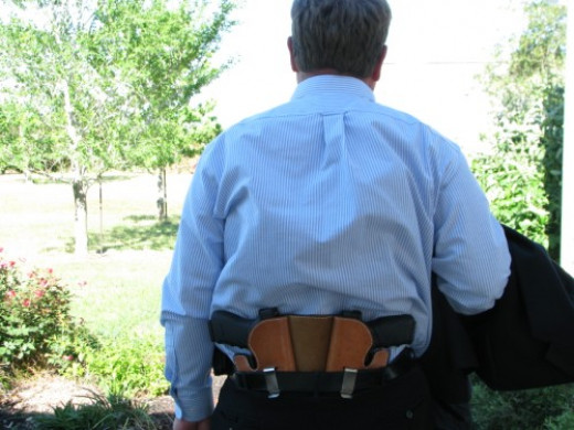 Double Trouble duel carry holster