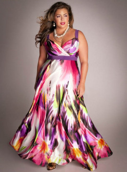 Designer Plus Size Clothing Outlets Maxi dress igigi com