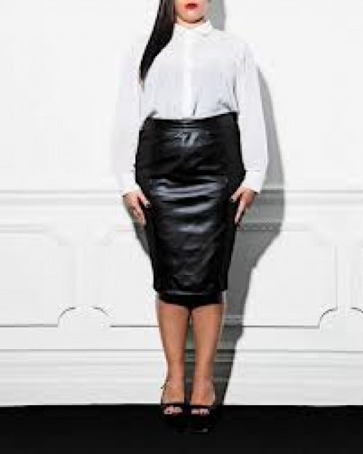 Skirt & blouse @oneone3.co.uk