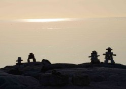 Inukshuks of the Arctic Region