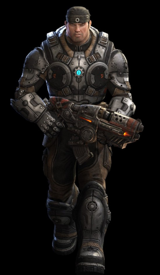 Young Marcus Fenix (GameStop)
