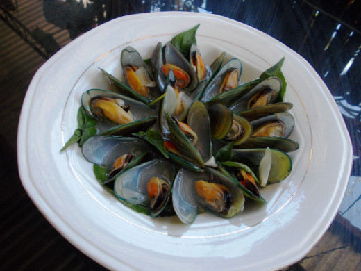 Mouth watering Mussel soup