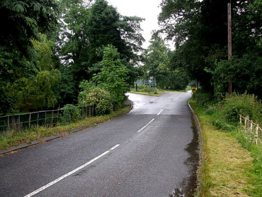 Halloughton Grange Lane - the ghost of a nurse has shocked a few drivers on this road as well as causing a few minor accidents.