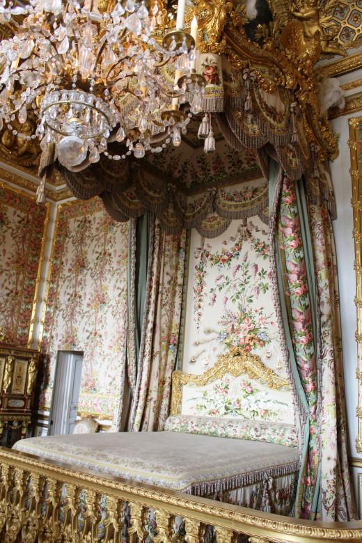 The Queen's bedchamber.