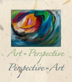 Perspective = Art ~ Art = Perspective