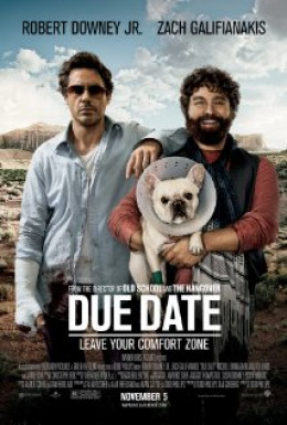 Zach and Robert starring in Due Date