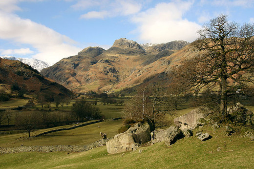 Great Langdale and Copt Howe