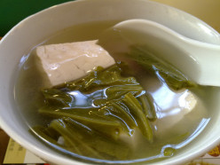 Soup Recipes: Bok Choy (Pak Choy)Soup with Tofu
