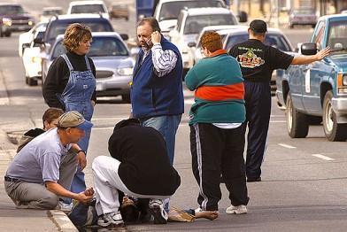 The Good Samaritans of modern times (Photo Source: http://my.opera.com/saranayrose/)