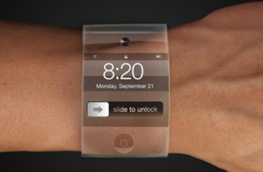 An early Apple iWatch prototype