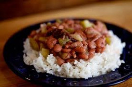 I love you once I love you twice. I love you as much as red beans and rice.