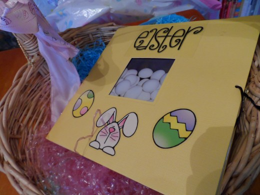 After Easter, create a mini scrapbook.
