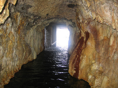 Photo: Cave at Ainsworth, B.C.