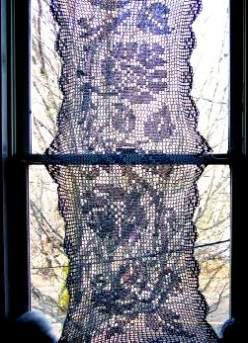 Filet Crochet--Creating Intricate Designs Using Two Easy Stitches